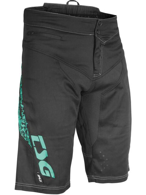 TSG MJ2 Shorts Men black-turquoise